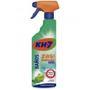 KH-7 Zas Baños Desinfectante sin Lejía 750ml.
