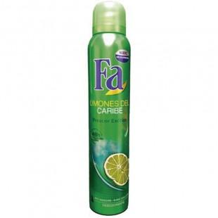 Fa Limones del Caribe  Desodorante Spray 200ml.