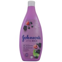 Johnson`s  Gel de Ducha Vita-rich con Extractos de Frambuesa  750ml