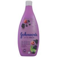 Johnson`s  Gel de Ducha Vita-rich con Extractos de Frambuesa  750ml