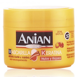 Anian mascarilla Keratina para el Cabello 250ml
